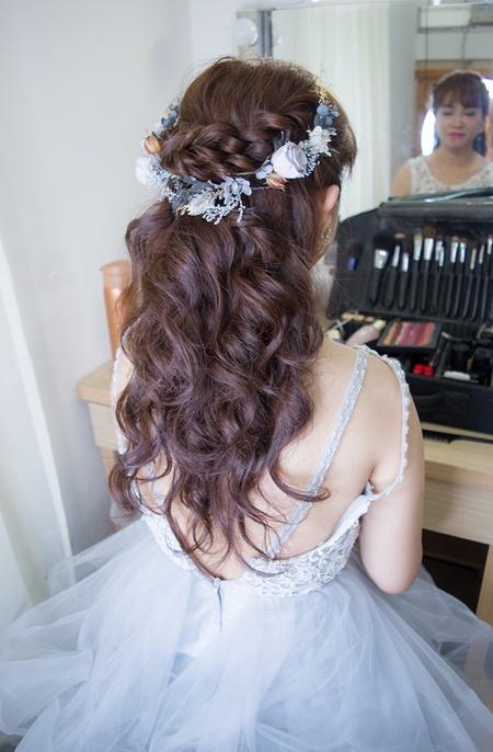 招牌花飾品質感新娘