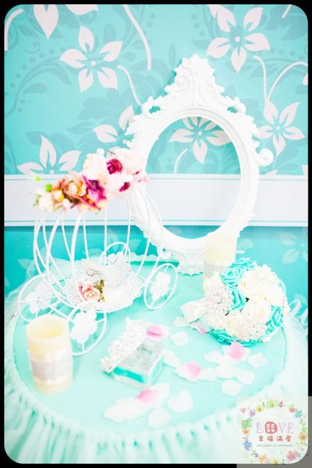 5號傘板(布式背板)套餐❤Princess Tiffany-全省可寄送