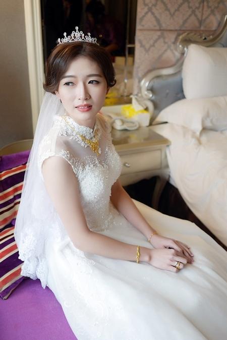 饅頭爸新秘團隊–思妍 ❤ 沛如婚禮造型