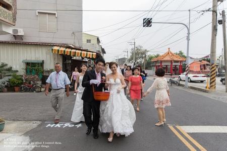 婚禮紀錄WEDDING | 台南西港自宅 | 幸運草攝影工坊