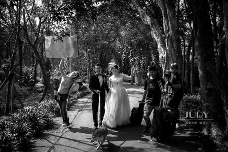 忠凱❤️盈蓁(花絮側拍) | JUDY文創.婚禮 | 台北外拍景點 | 花卉中心 | 陽明山 |