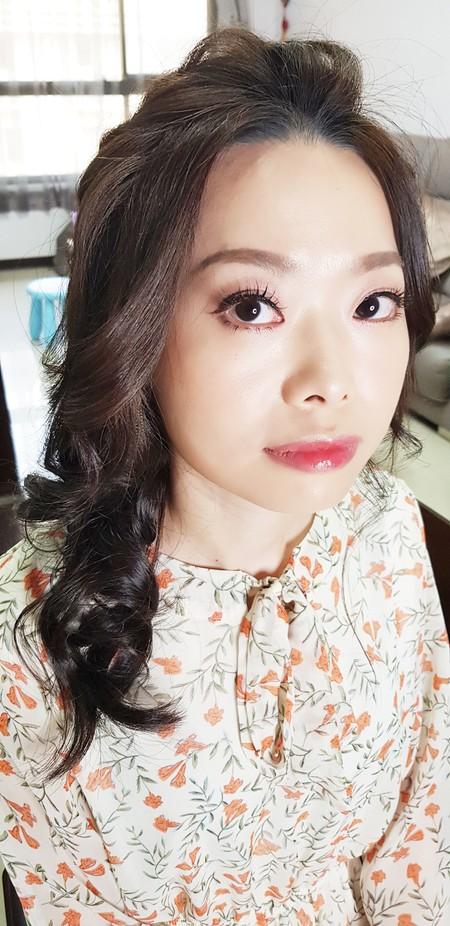 個人彩妝-VIVIAN蘇蓉蓉新娘秘書整體造型