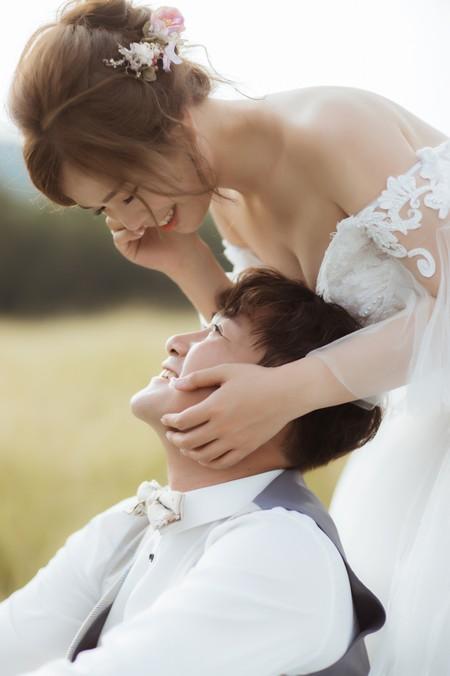 Joe ❤Joy   新竹Vanessa 手工婚紗。攝影工作室