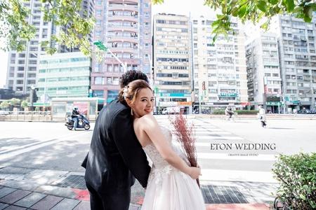 台北拍婚紗-多元風格婚紗照-伊頓自助婚紗