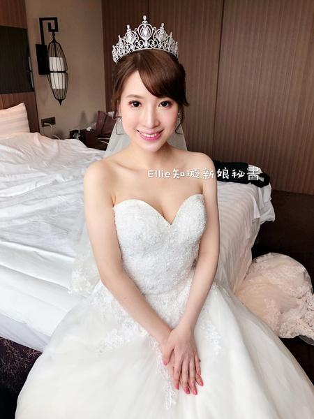 Weddingday Sandra結婚造型