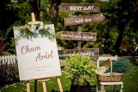 婚禮紀錄 | 戶外證婚 浪漫甜美