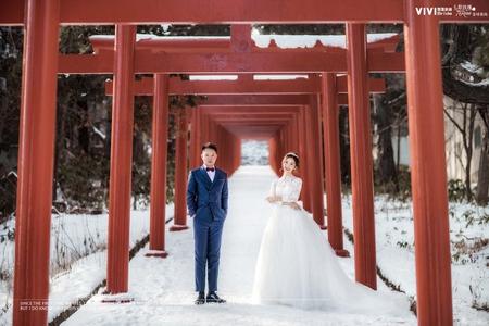 海外婚紗 - 日本北海道