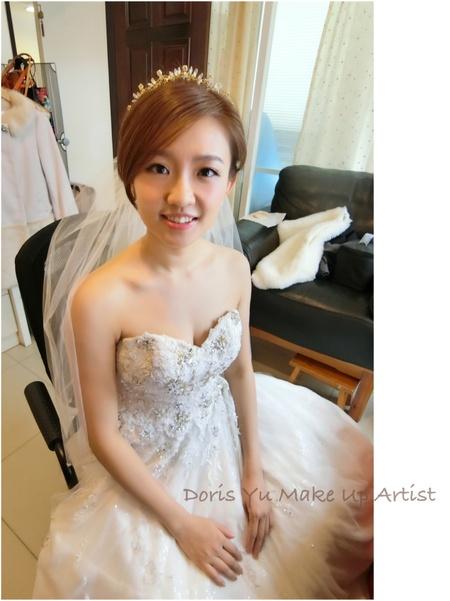 Monica白紗造型