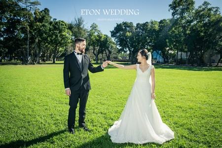 美國Diana&John客照分享-伊頓台北婚紗推薦