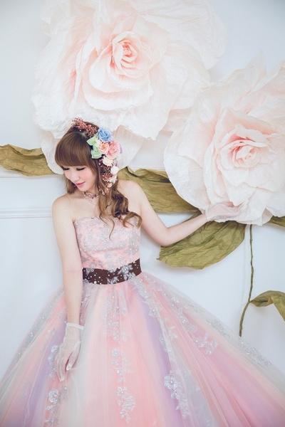 衣夫人日式手作婚紗~~~籌備一年的浪漫婚紗...