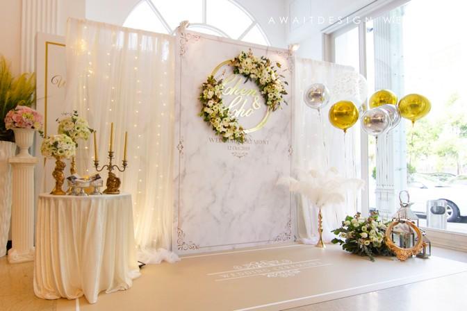 爾威特創意設計-客製婚禮佈置