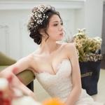 愛的結婚式/蔡雅芳的新娘造型/髮妝/新娘秘書教學/新娘秘書/自助婚紗/