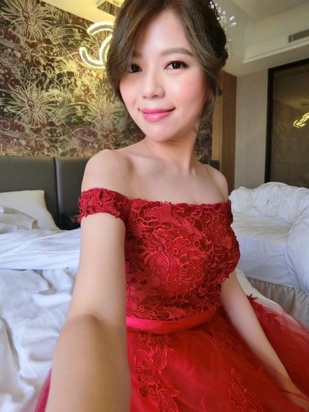 #wedding #新秘 #Vicky 造型by Bunny(Janet Studio)