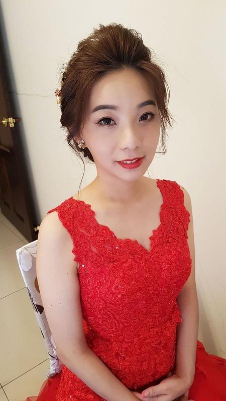 敬酒韓風髮型-蘇蓉蓉新娘秘書