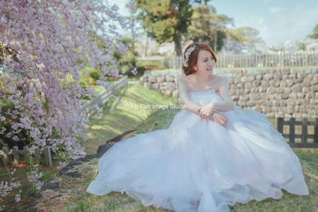 饅頭爸新秘團隊-宜佳❤Yi Chuan Wu 海外自助婚紗