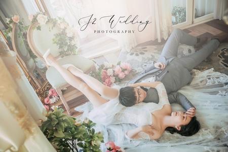 J2 wedding 板牆 (韓風小清新)