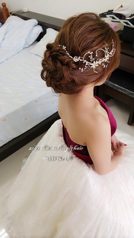 Zoe幸福新娘~岑(婚宴現場造型)