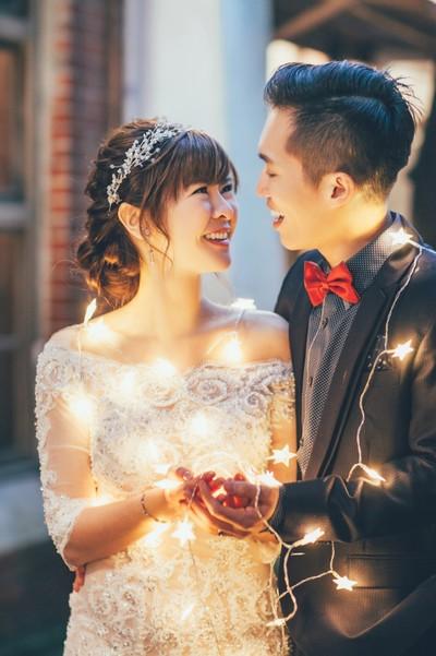 ❤婚紗拍攝分享❤領結與花自助自主婚紗/婚禮...