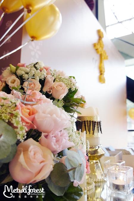 【客製婚禮】法式優雅白金婚禮 / 中和辰上