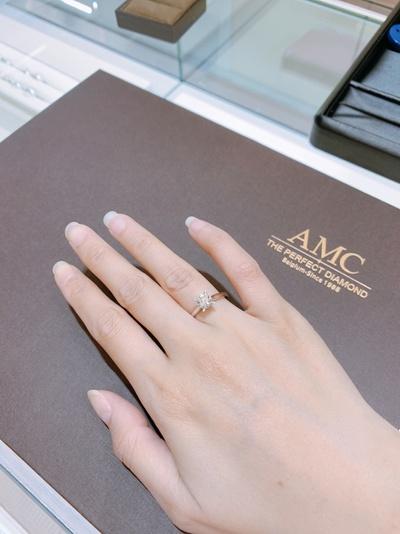 分享AMC求婚戒~我的命中註定的豬隊友