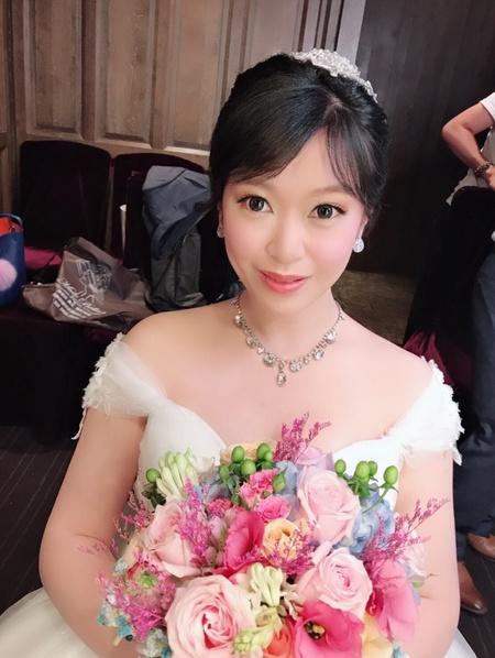 饅頭爸新秘團隊-娃娃 ❤ 昱琪 結婚君品婚宴