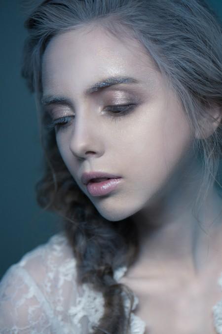 【歐式水晶風】 高質感噴漆彩妝/浪漫側邊髮造型/新娘秘書作品