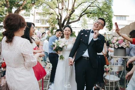 婚禮紀錄 | 台南帕莎蒂娜臺南市長官邸-證婚+晚宴(度比)