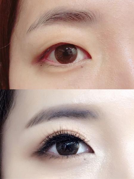 饅頭爸新秘團隊–芯媛❤眼型調整