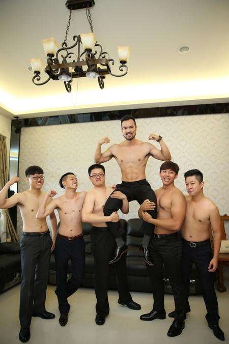 台中婚攝饅頭爸 | 台中葳格-健身老闆兼教練