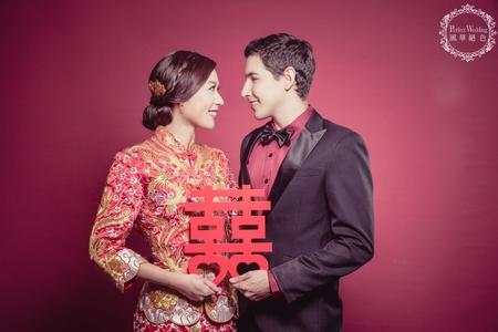 ❤️客照分享 思潔 -風華絕色婚紗攝影