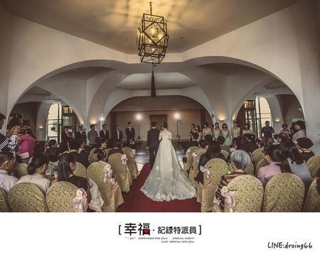 【教堂婚宴】- 桃園南方莊園