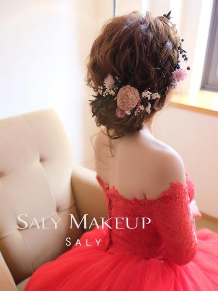 愛花花兒的新娘~新秘作品by SALY