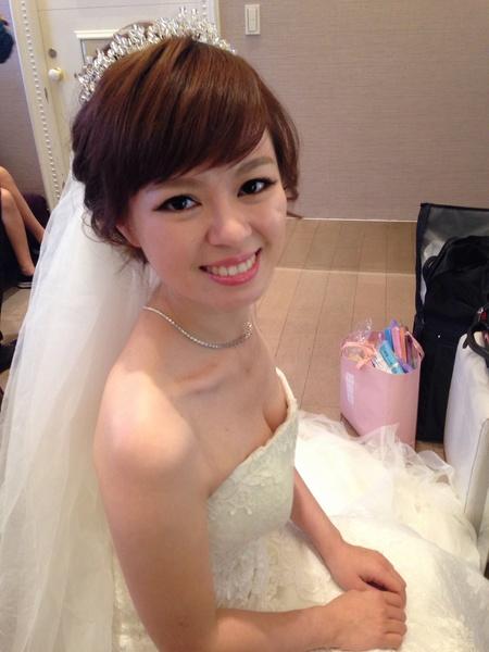 #台北新秘 #混血兒妝感 ITien結婚@成都雅悅