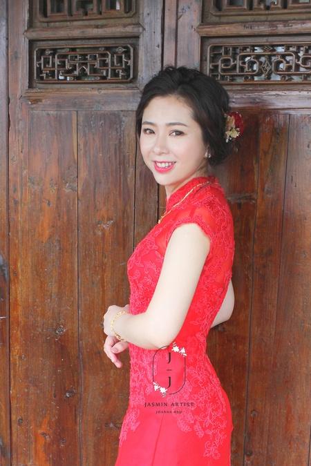 Bride -- Wenny 文定短髮造型