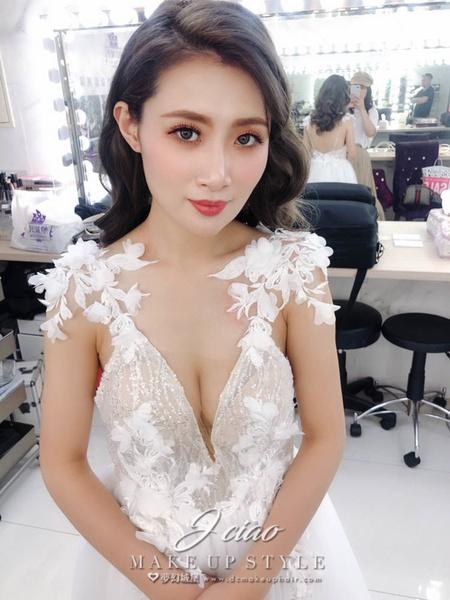 新秘婕喬-新娘婚紗造型