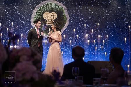 婚禮紀錄|星空婚禮|國賓飯店