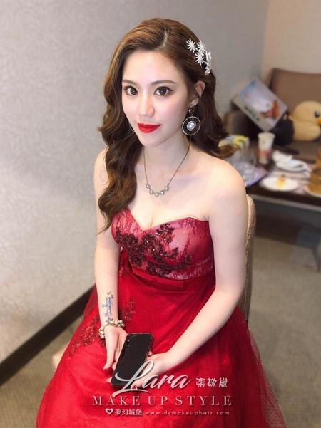 新秘LARA-新娘婚宴造型