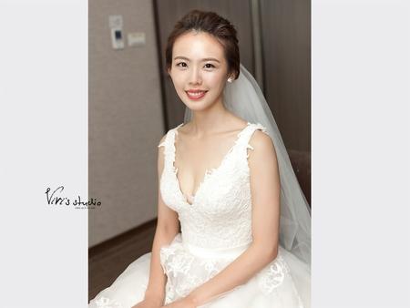 單眼皮大美女!有自信美就能魅力十足的婚禮造型