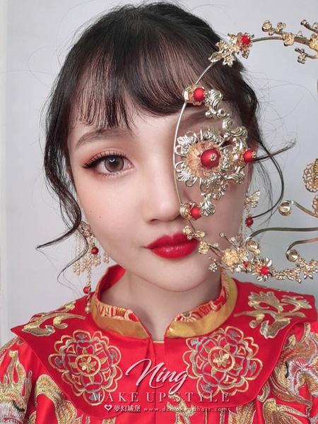 韓系仙女風 新秘羽寧 夢幻城堡彩妝造型團隊