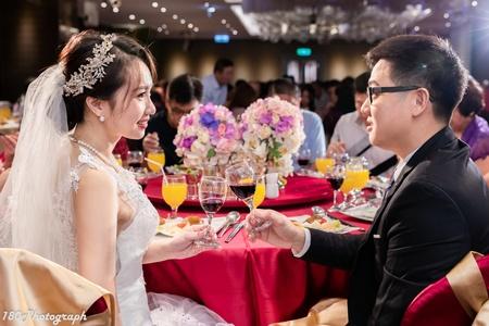 蕙妤&敬堯 訂婚紀錄 新莊晶宴會館