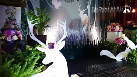 【迷幻森林】客製化婚禮