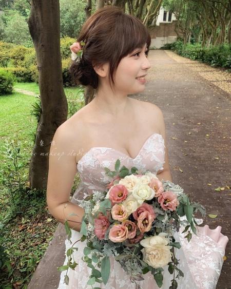 甜美妝感/客製捧花