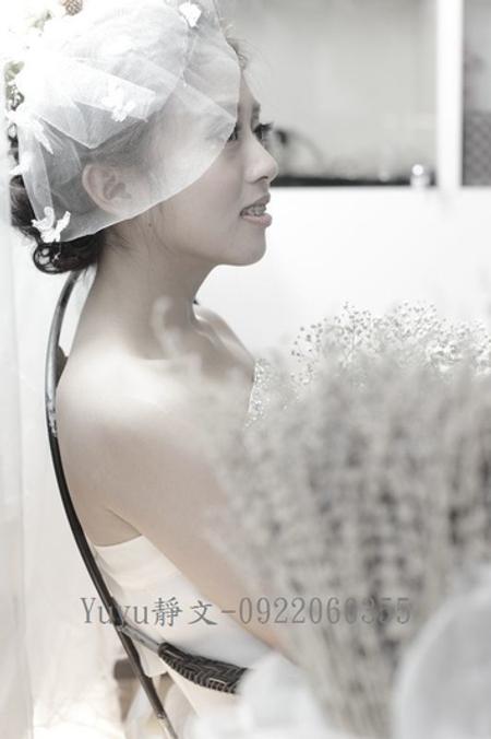 yuki白紗造型