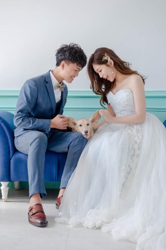 比堤婚紗 推薦新人:開宏&思庭 狗狗寶貝