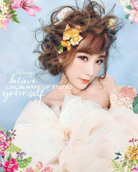 #韓系新娘髮型教學#女神3D製造機#
