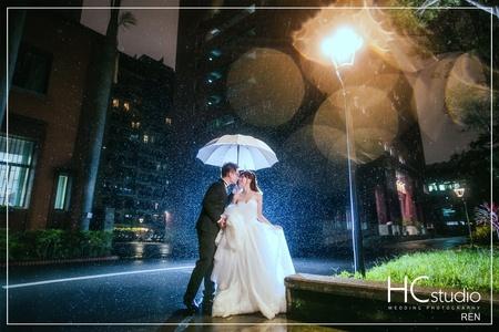 HC婚紗照 x 微光夜景