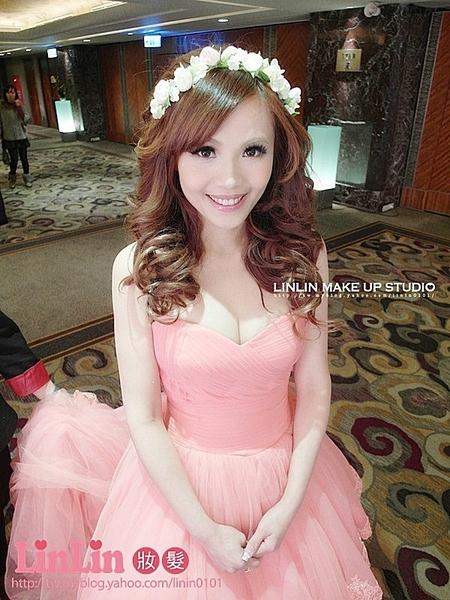 #日韓新娘髮型#♥Tina婚宴