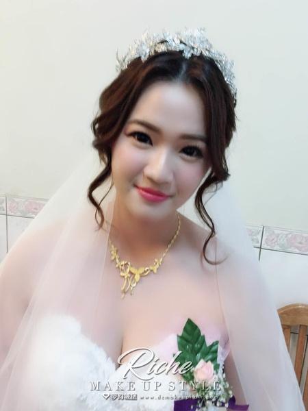 夢幻城堡彩妝造型-新RICHE-新娘婚宴造型