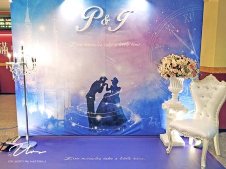 仙履奇缘|主題婚禮佈置