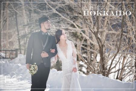 HC海外婚紗 x日本 x 北海道